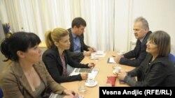 Sastanak predstavnika REKOM-a i Demokratske stranke, Beograd, 17. maj 2011.