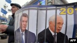 Майданга чыккандардын негизги талабы - президент Виктор Януковичти жана премьер Микола Азаровду кызматтан кетирүү болгон.