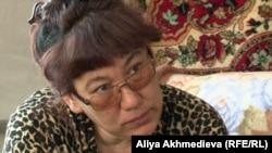 Рашида Усманова, бывшая военнослужащая. Алматинская область, 24 апреля 2013 года.