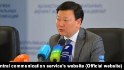 Глава Минздрава Казахстана Алексей Цой.