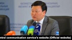 Министр здравоохранения Казахстана Алексей Цой.