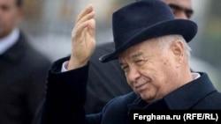 Президент Узбекистана Ислам Каримов. 2015 год.