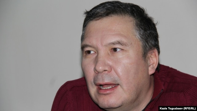 Kazakh civic activist Serikzhan Mambetalin (file photo)