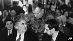 Haški optuženici Radovan Karadžić, Ratko Mladić i Goran Hadžić