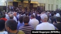 Բողոքի ցույցը Աբխազիայի մայրաքաղաք Սուխումիում, 5-ը հուլիսի, 2016թ․