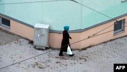 Hicablı qadın (arxiv fotosu).