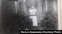 Вольга Кацянкова ў маладосьці