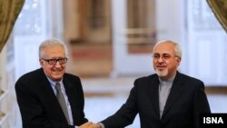 محمدجواد ظریف و اخضر ابراهیمی
