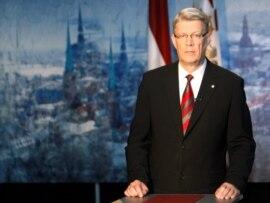 Former Latvian President Valdis Zatlers