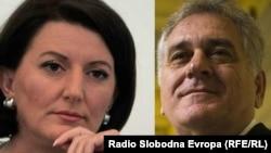 Atifete Jahjaga i Tomislav Nikolić, kombinovana fotografija