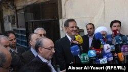 نائب الرئيس الايراني اسحق جيهانغيري في النجف
