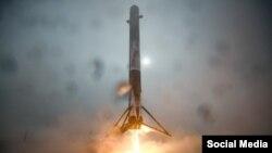 Falcon-9 зымыран тасығышы.