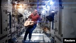 "Canadian astronaut Chris Hadfield wowed the world in 2013 with his rendition of David Bowie's ""Space Oddity,"" which he recorded on the International Space Station."
