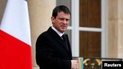 Франция ішкі істер министрі Мануэль Вальс.