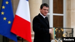 Kryeministri francez, Manuel Valls (ARKIV)