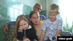Встреча Яны с детьми