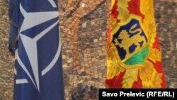 Zastava NATO i Crne Gore