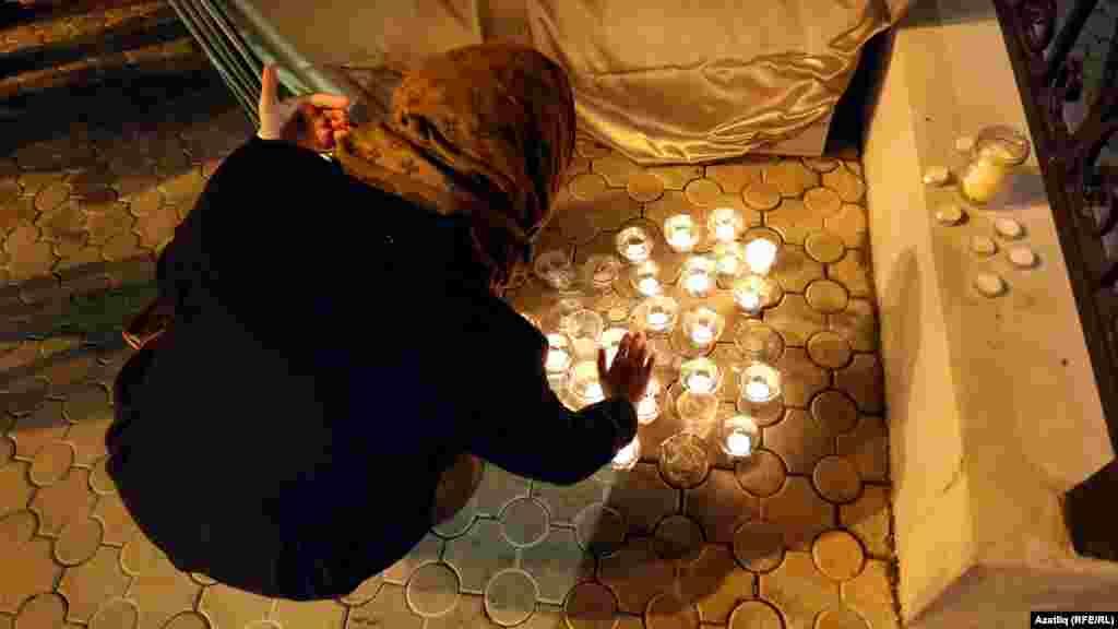 Казан һава аланында очкыч һаләкәте корбаннарын искә алу урыны