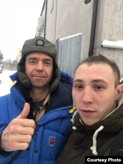 Сяргей Міхалок і Андрэй Галавенка