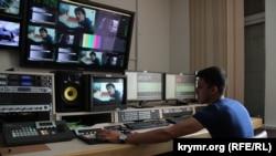 ATR telekanalınıñ montaj odası