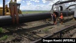Gradnja Turskog toka u Srbiji
