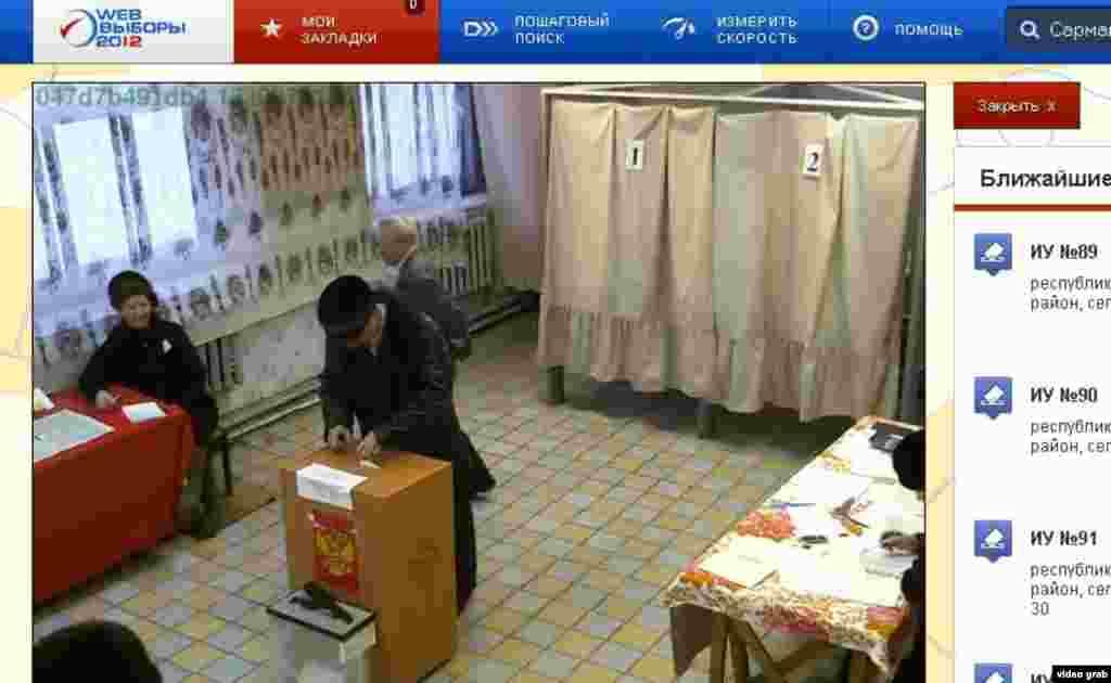 Чуашстанның Шыгырдан авылында куелган веб-камера ялган бюллетеньнәр ташлаучыга мөмкинлек калдырмый диярлек.