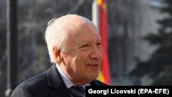 Posrednik UN Matthew Nimetz u Skopju