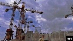 Șantierul centralei Belene în 2004