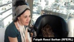 الفنانة عايدة نديم تتحدث لإذاعة العراق الحر في عمّان