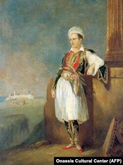 Лорд Байрон в Греции