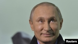According to pollsters, Russian President Vladimir Putin's approval ratings have been soaring since his country's annexation of Crimean in March.