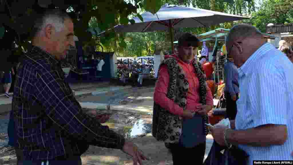 Vânzătorii din Republica Moldova, cumpărătorul din România