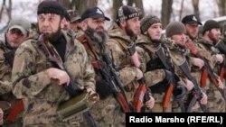 Украина --Донбассерчу сепаратисташкахьа тIомбан бахана нохчий