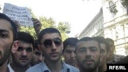 «Fatimeyi-Zəhra» məscidinin sökülməsinə qarşı etiraz aksiyası, 1 sentyabr 2009