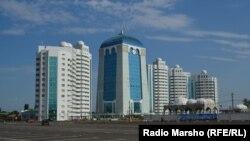 Новый облик чеченского города Шали
