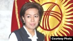 Депутат Айнура Аскарова.