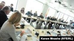 """جلسة في مؤتمر البرلمان الأوروبي حول """"الربيع العربي"""""""