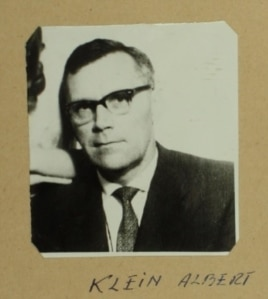 Albert Klein (Foto: ACNSAS, I 258189, vol. 1, f. 17))