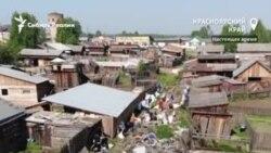 Жительница Алтая приехала в сибирский поселок и решила очистить его от мусора