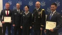 АҚШ әскери академиясының шәкірттері