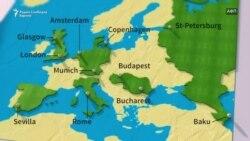 На кои стадиони ќе се игра Европското првенство во фудбал