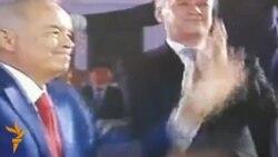 OZOD-VIDEO: Каримов барчани рақсга туширган байрам