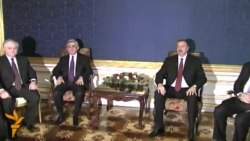 Armenian, Azeri Leaders Vow New Push For Karabakh Peace