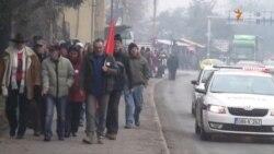 Godišnjica februarskih protesta: Radnici štrajkuju glađu