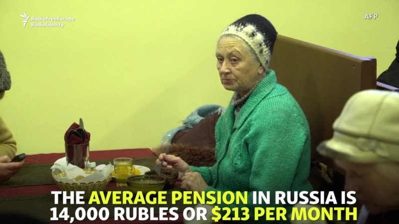 'I Would Go Hungry': Free Lunch For Russian Pensioners