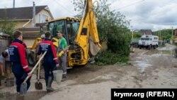 МЧС России ликвидируют последствия наводнения в Куйбышево