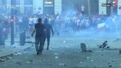 Во Париз прослави и тепачки со полиција по освоената титула
