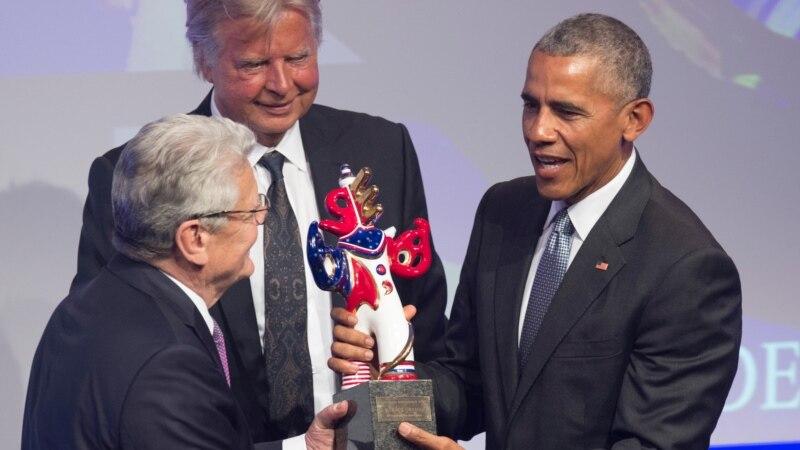 Օբաման արժանացել է գերմանական լրատվամիջոցների մրցանակին