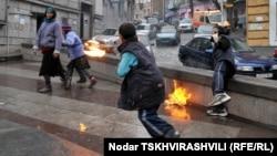 უსახლკარო ბავშვები თბილისში