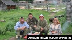 Ханты из деревни Ямгорт Шурышкарского района ХМАО